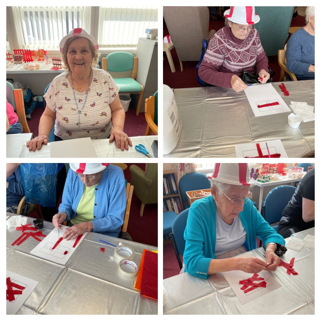 St George's day at the Day Care Centre